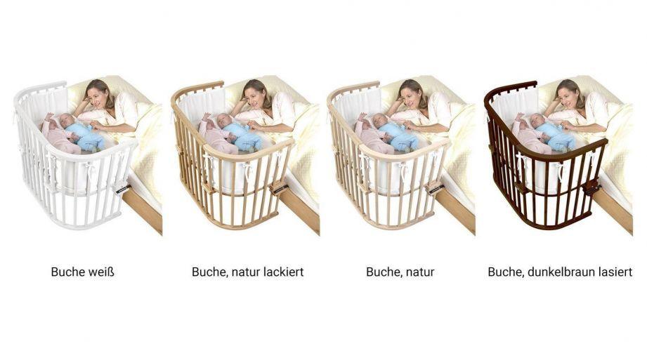 Anstellbettchen Babybay Maxi Fur Ein Zwillingspaar Geeignet Beistellbett Babybay Beistellbett Beistellbett Zwillinge