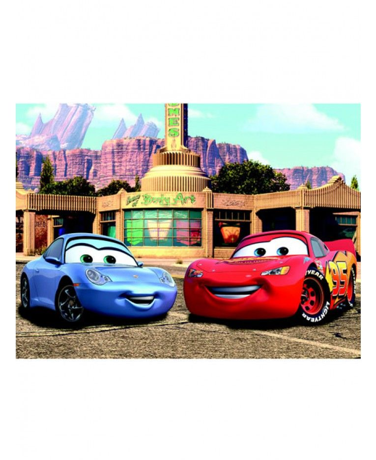 Create An Instant Feature In Any Room With This Stunning Disney Cars Photo Wall  Mural!