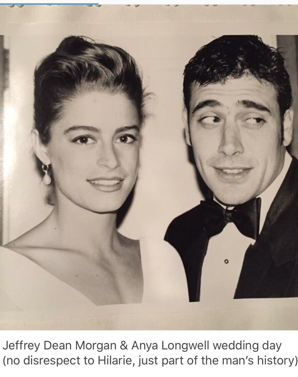 Anya Longwell And Jeffrey Dean Morgan Married In 1998