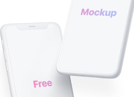 Download Free Minimal Perspective Iphone X Mockup Psd Titanui Mockup Free Psd Free Mockup Mockup Psd