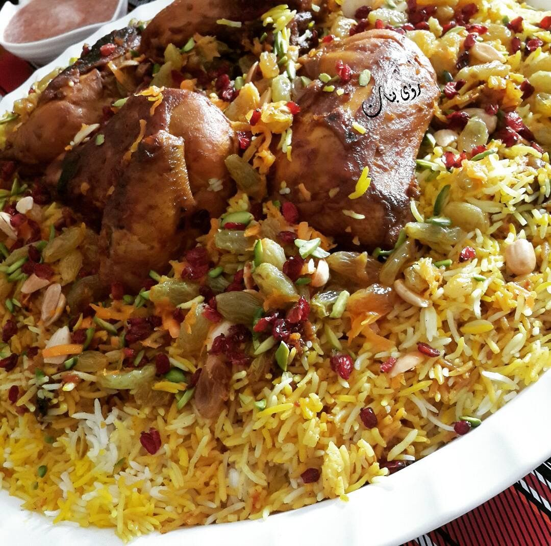 الكبسة الإيرانية الطعم فخامة وما بتكرر زاكي Traditional Food Egyptian Food Cooking Recipes