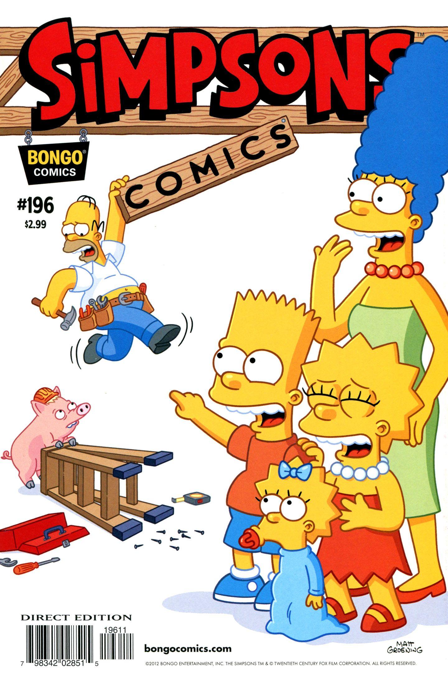Bart Fucks Milhouse simpsons comics 196 | comic books, the simpsons, comics