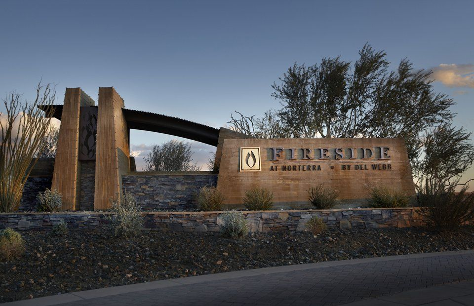 Fireside At Norterra By Del Webb This Sign Needs An