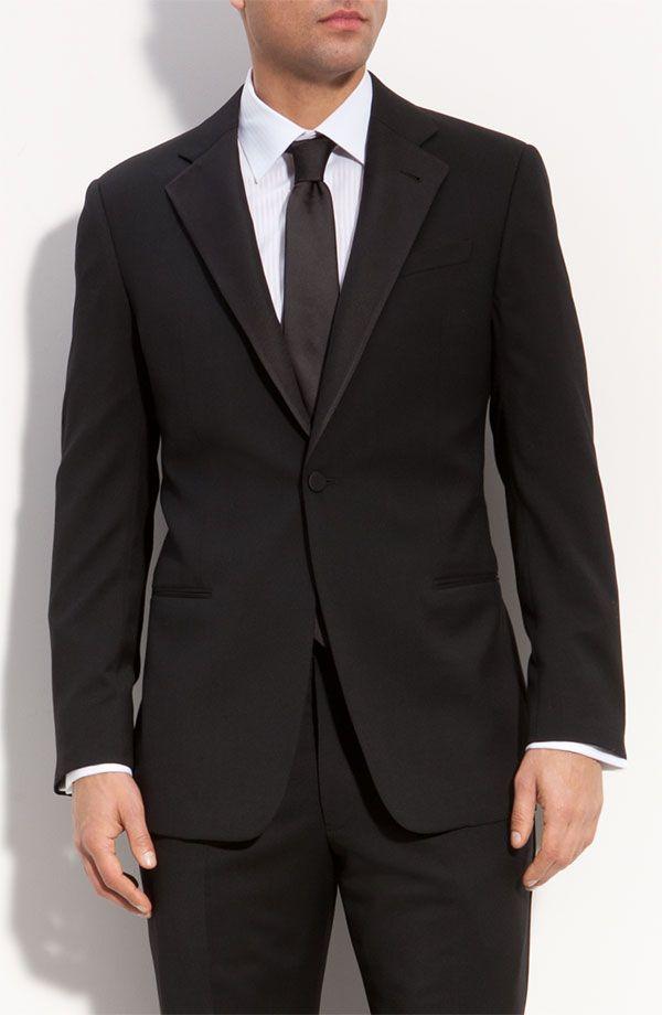 Armani Collezioni Giorgio Wool Tuxedo | Wedding Inspiration ...