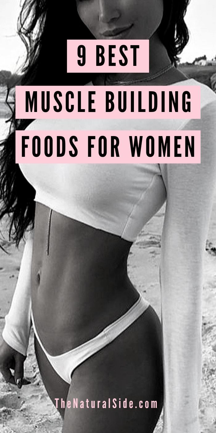 9 Best Muscle Building Foods for Women - #Building #Fitness #Foods #muscle #Women