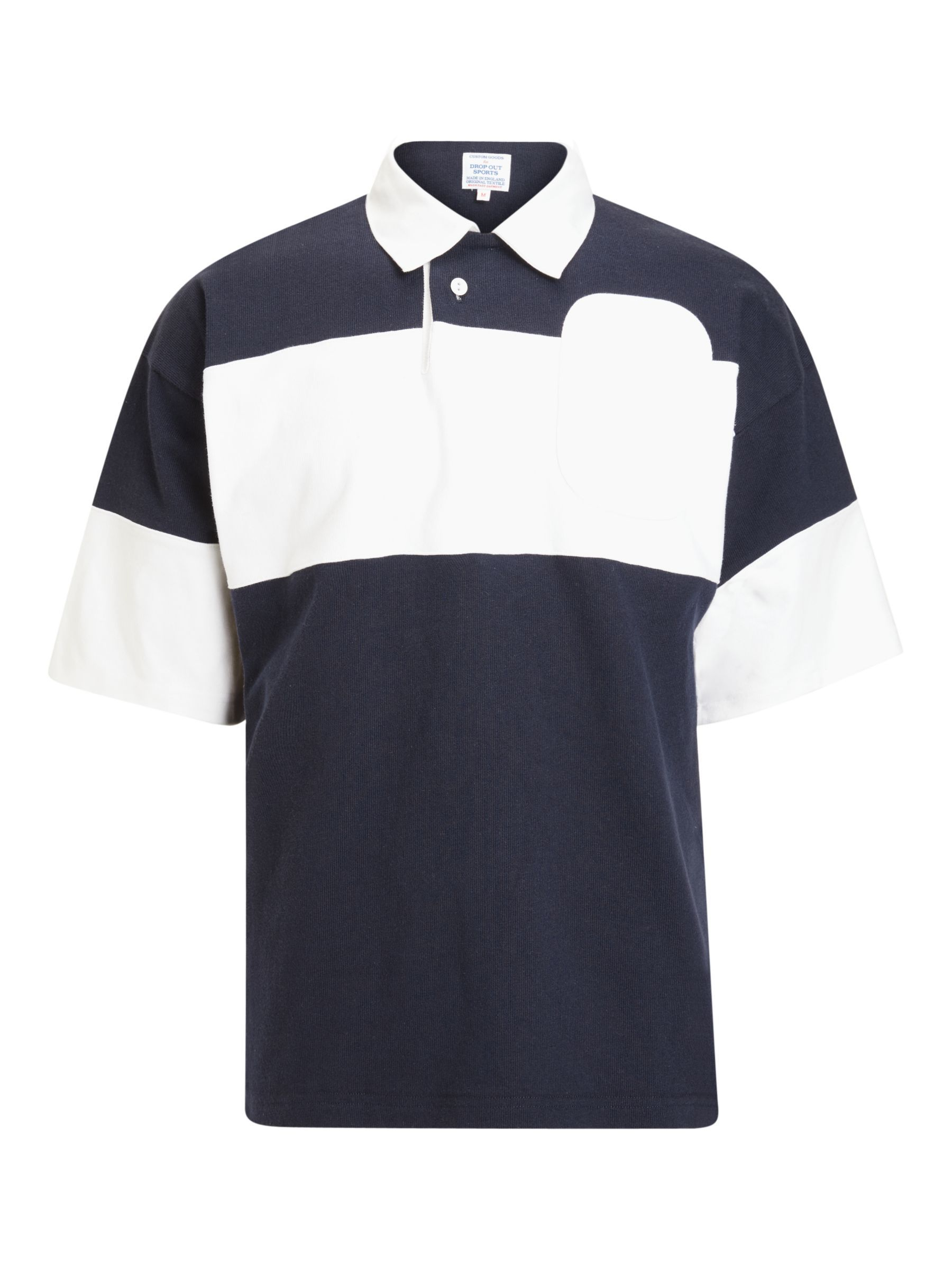 Garbstore Drop Out Sports Gots Organic Cotton Rugby Polo Shirt In 2020 Vintage Rugby Shirts Mens Tops Polo Shirt