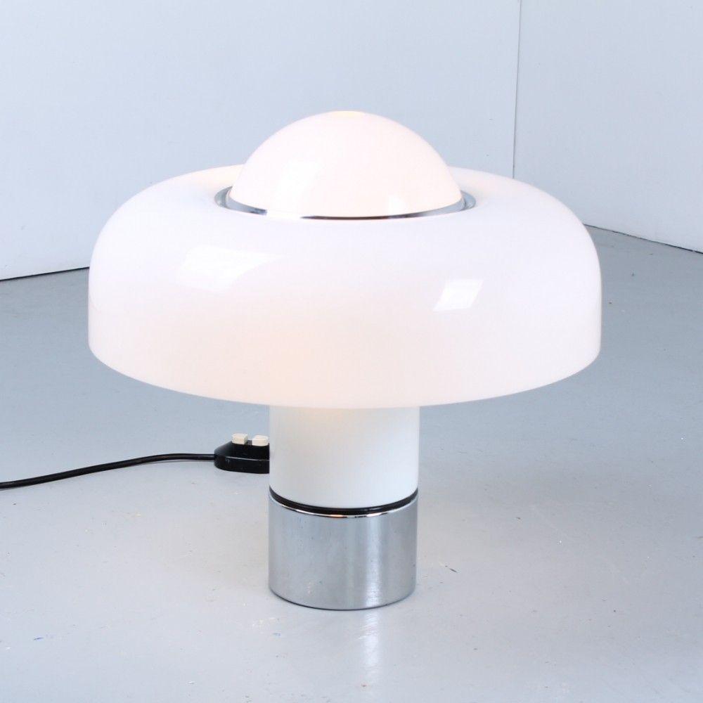 Brumbury desk lamp by luigi massoni for harvey guzzini s desk