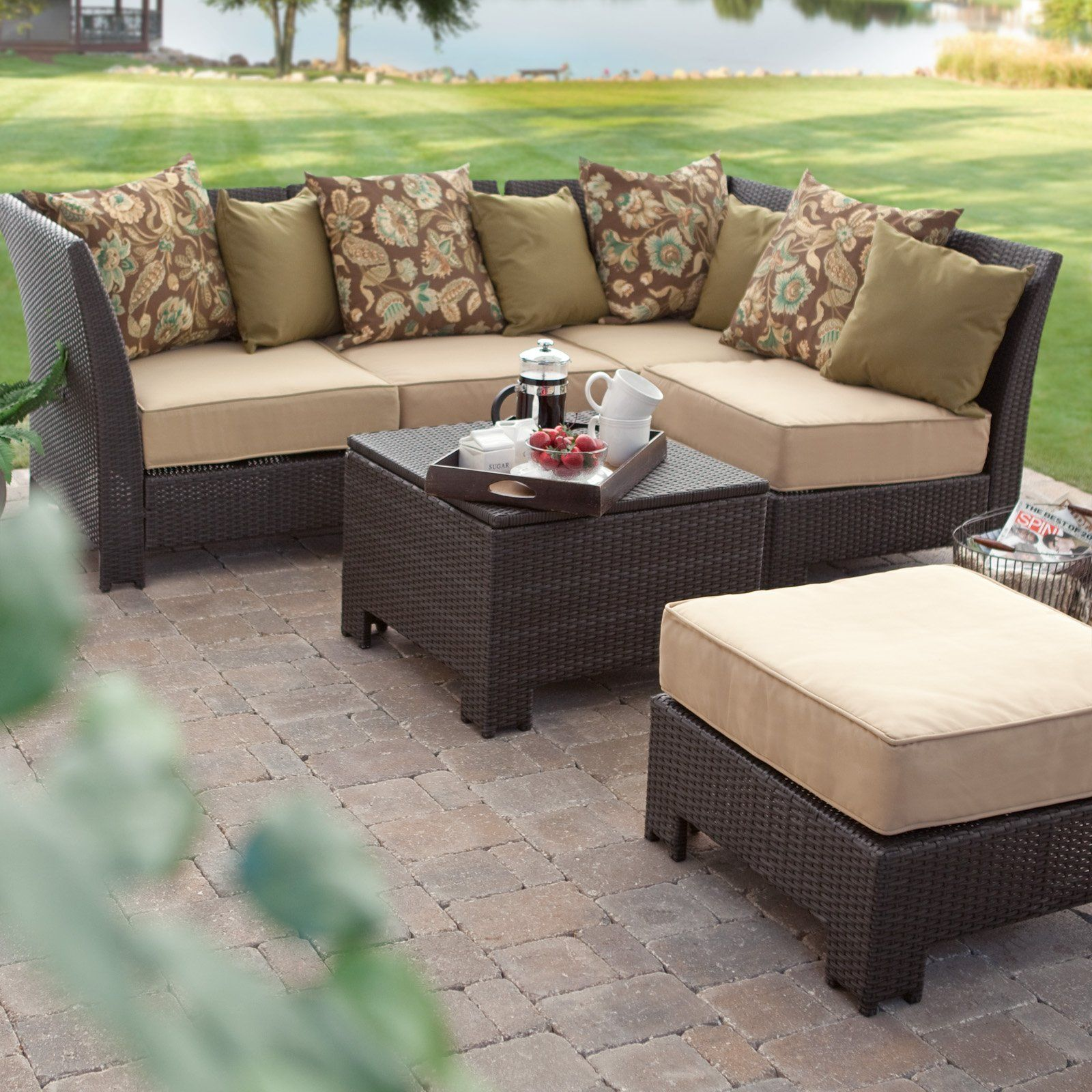 Outdoor Patio Furniture Omaha Ne: Time To Get Ready For Spring. Love These Resin Wicker Sets