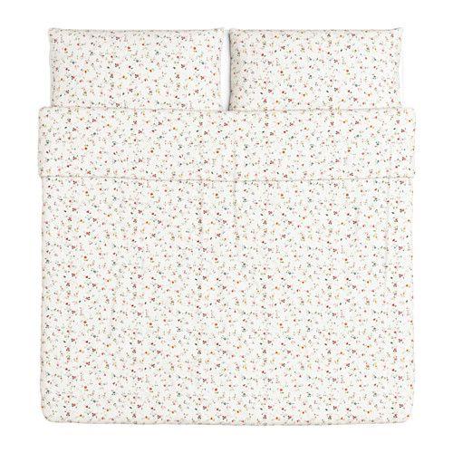 LJUSÖGA Copripiumino e 2 federe - 240x220/50x80 cm - IKEA