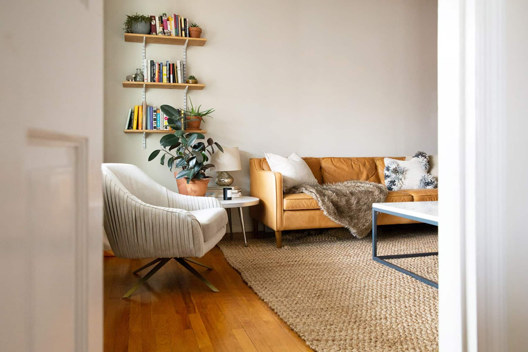 A Spacious Brooklyn Rental Is Modern with a Homey