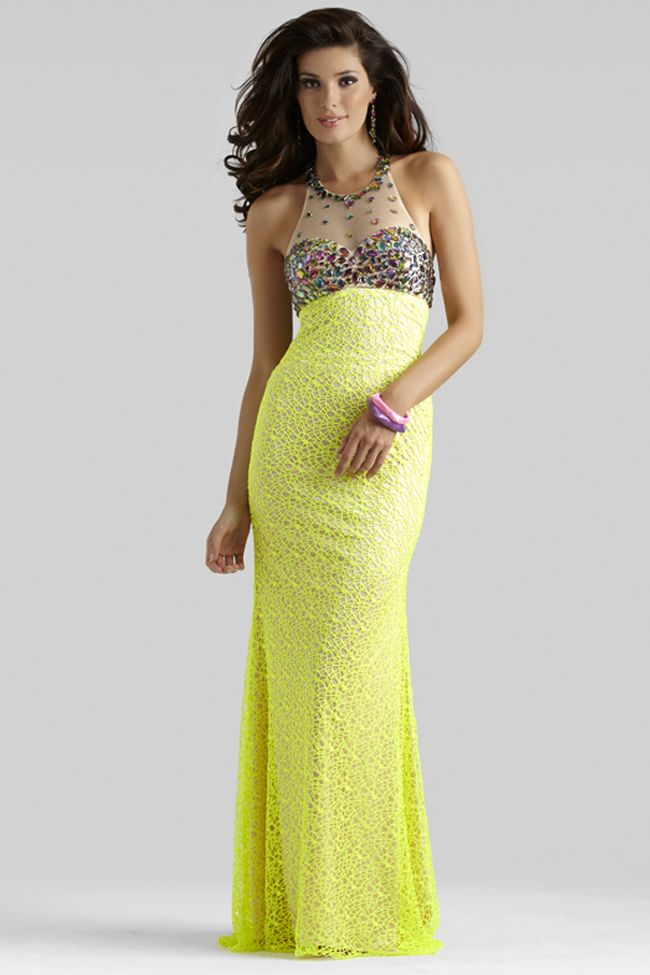 Yellow Prom Dress 2336 by Clarisse | Prom dresses, Long prom ...