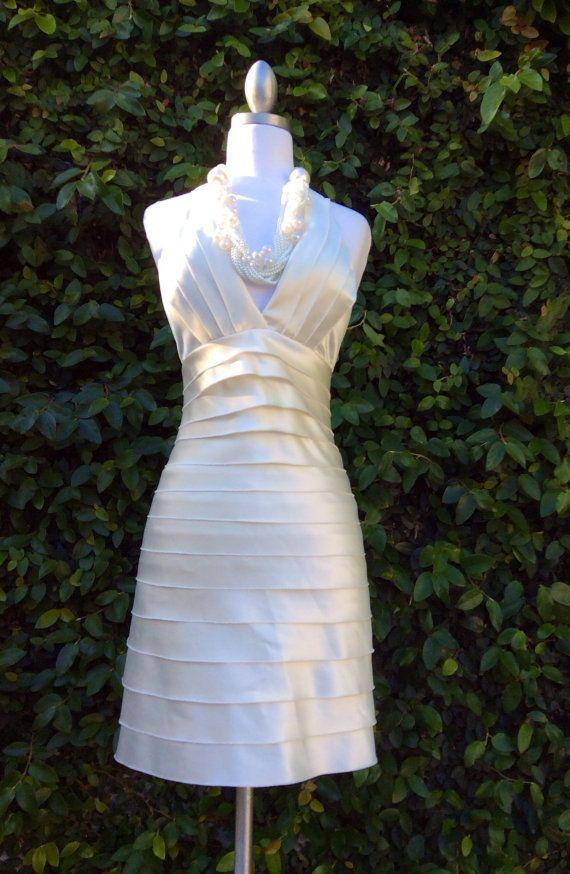 Cocktail Prom Designer Dress Size2Wedding Dress Prom by KisKissay, $95.00