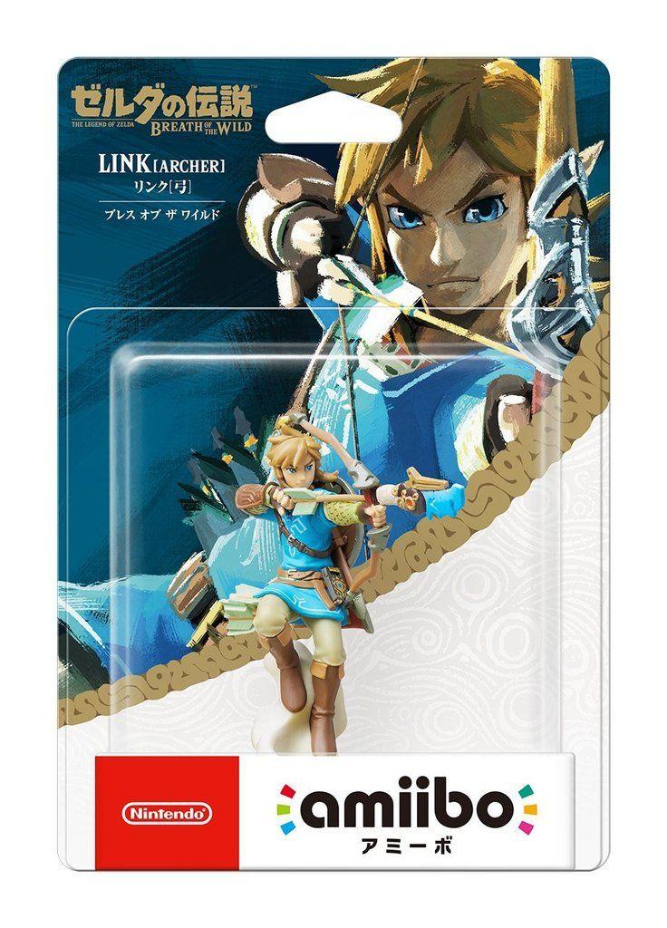 Amiibo Link Archer Breath of the Wild Nintendo