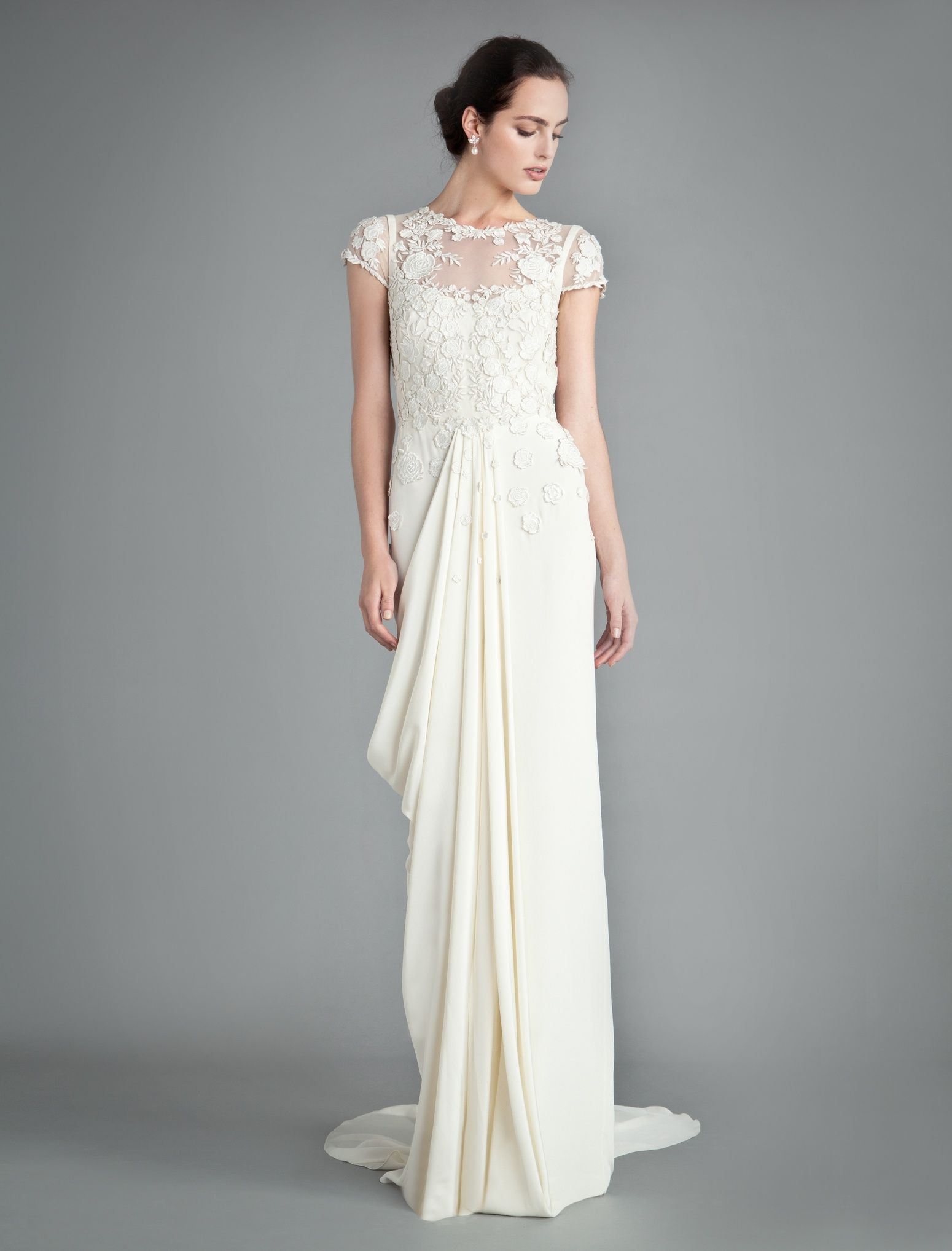 Couture wedding dresses london  Alice Temperley Launches The Beatrice  Collectionu  Pinterest