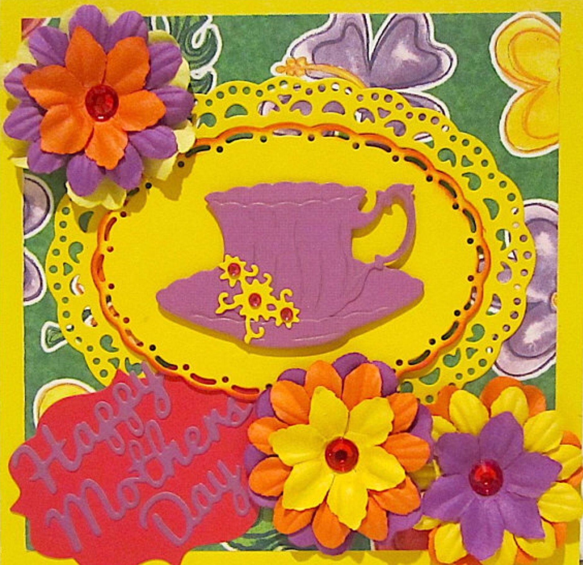 Motherus day cardhomemade cardshandmade cardscottage cutz cards