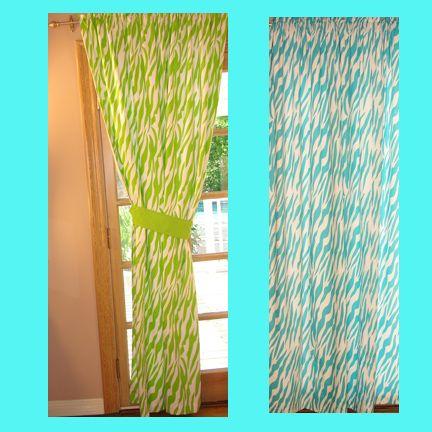 i love these zebra print panels teen bedroom ideas