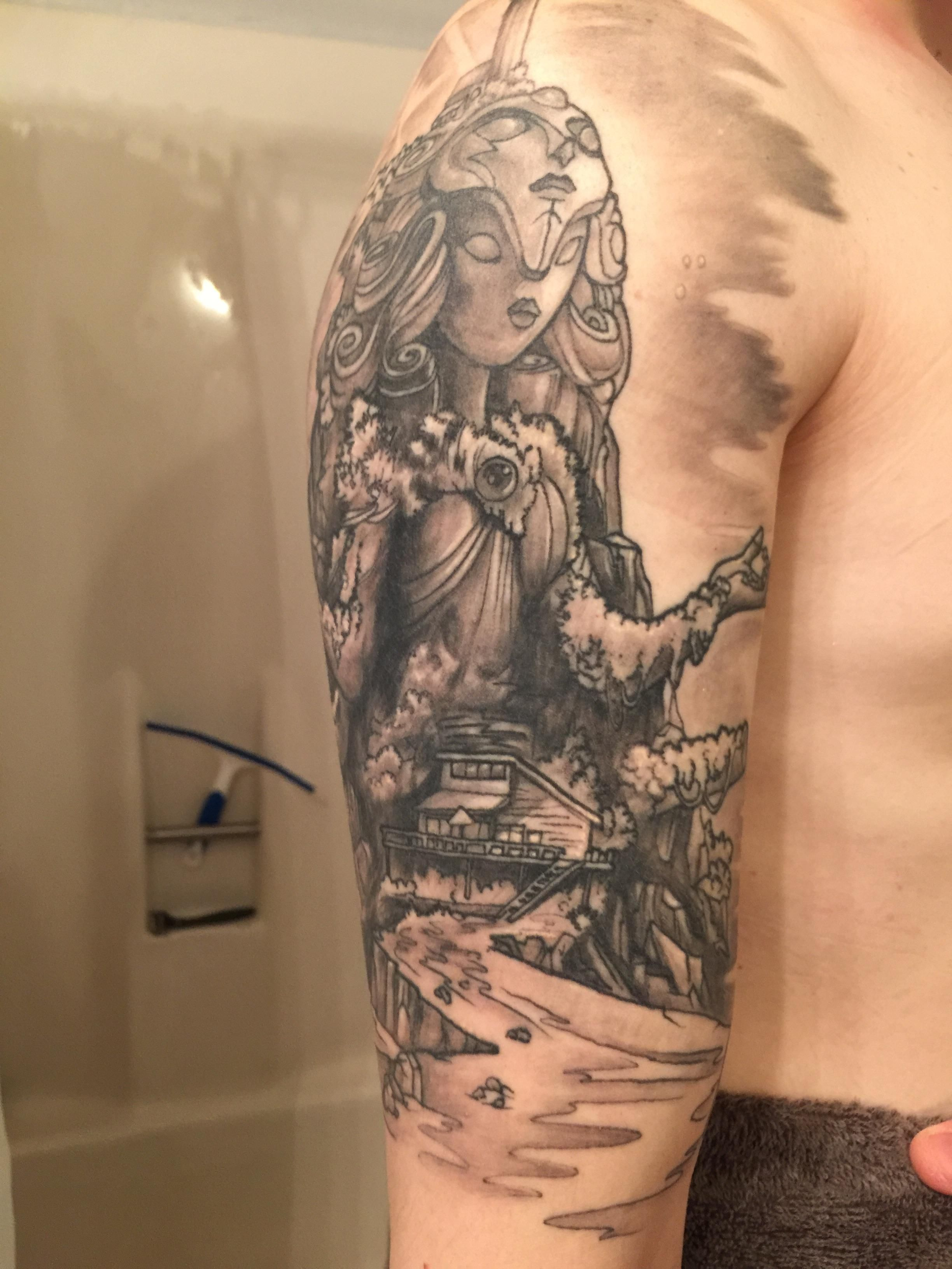 Steven Universe Crystal Temple by Saraloni at Club Tattoo in Mesa AZ ...