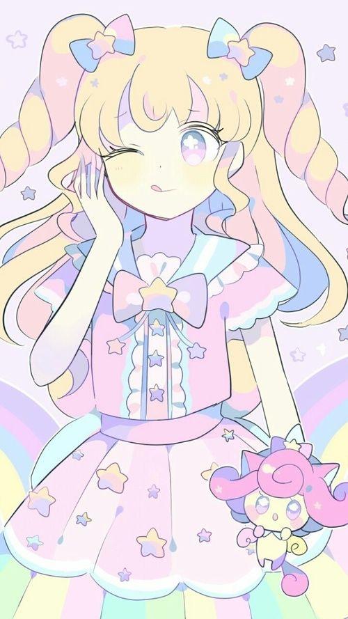 Anime Art Girl Baby Girl Background Beautiful Beautiful Girl