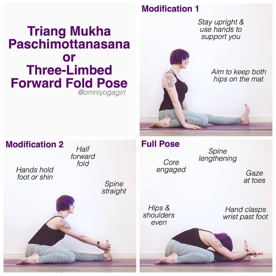 Paschimottanasana For Beginners