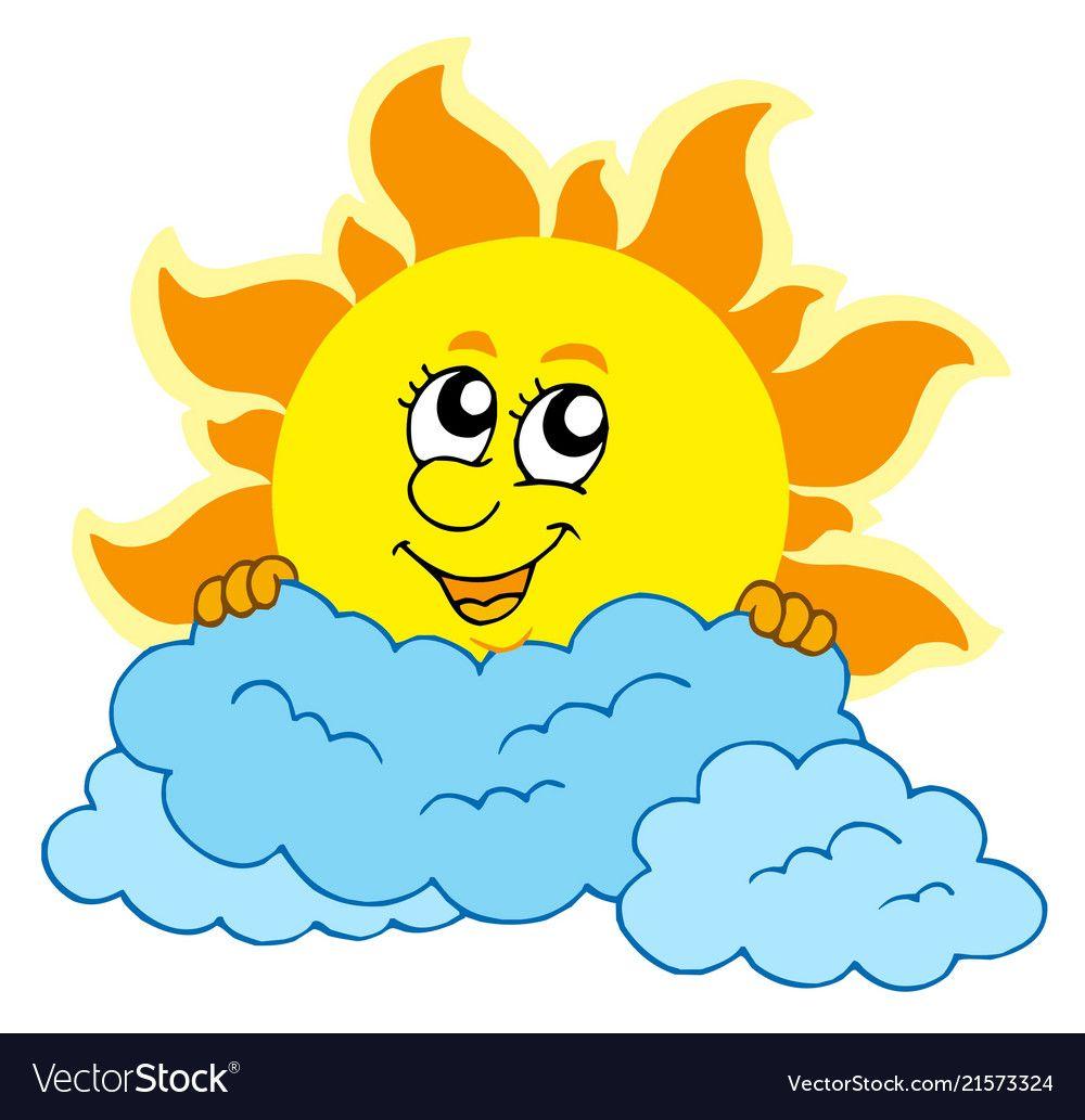 Pin By Bombard On Coloring Book Cartoon Sun Cartoon Clip Art Cute Cartoon