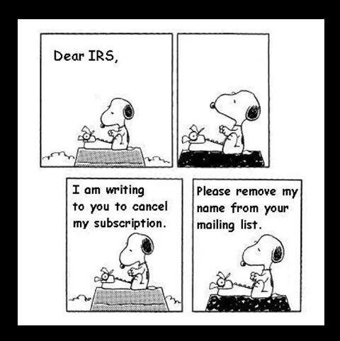 Snoopy Taxes Fun Comics Bones Funny Funny Quotes