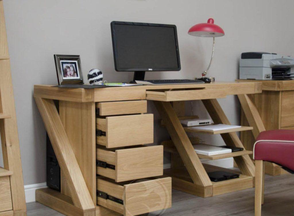 Attraktiv Großer Computerschreibtisch, Computertische, Schreibtische Für Zuhause,  Helle Eiche, Bürotische, Home Office, Schreibtisch Verjüngungskur,  Schreibtisch