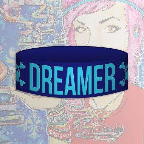 DREAMER Wristband from GHOST TOWN
