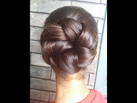 Bridal Bun Hair Style For Long Hair Ladies Hair Style Tutorials 2017 Youtube Bun Hairstyles For Long Hair Short Hair Styles Easy Hair Updos