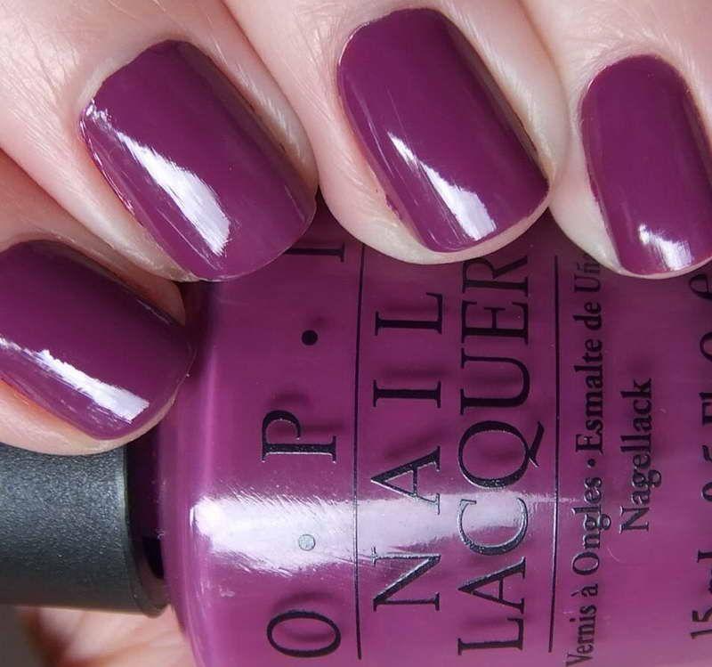 OPI Purple Nail Polish   Color Splash   Pinterest   Purple nail ...