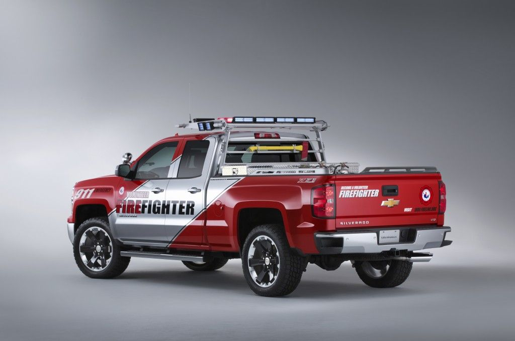 Chevrolet Silverado Z71 Volunteer Firefighter Concept With Images