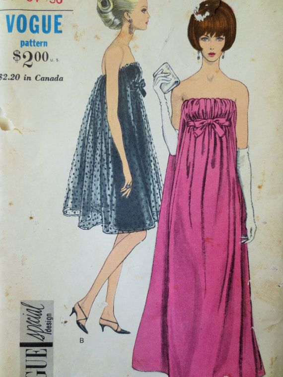 Vintage Vogue 6943 Sewing Pattern