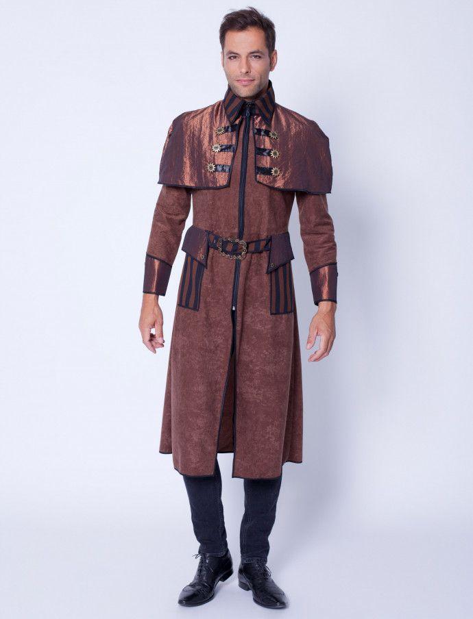 Steampunk Herren Mantel Joe für Halloween kaufen | Deiters | Kostüm ...
