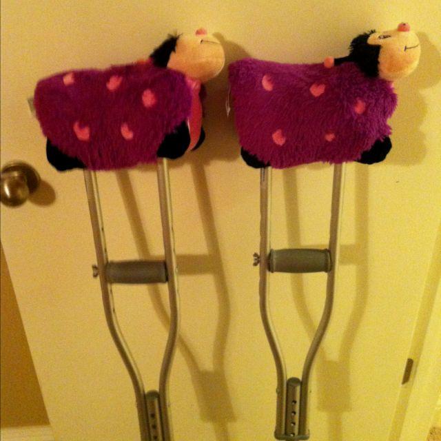 mini pet pillows crutch pads for kids
