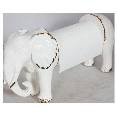 The White Elephant Kitchen Paper Towel Holder 25x9x14cm 48 00 Elephant Home Decor Elephant Decor Elephant Lover