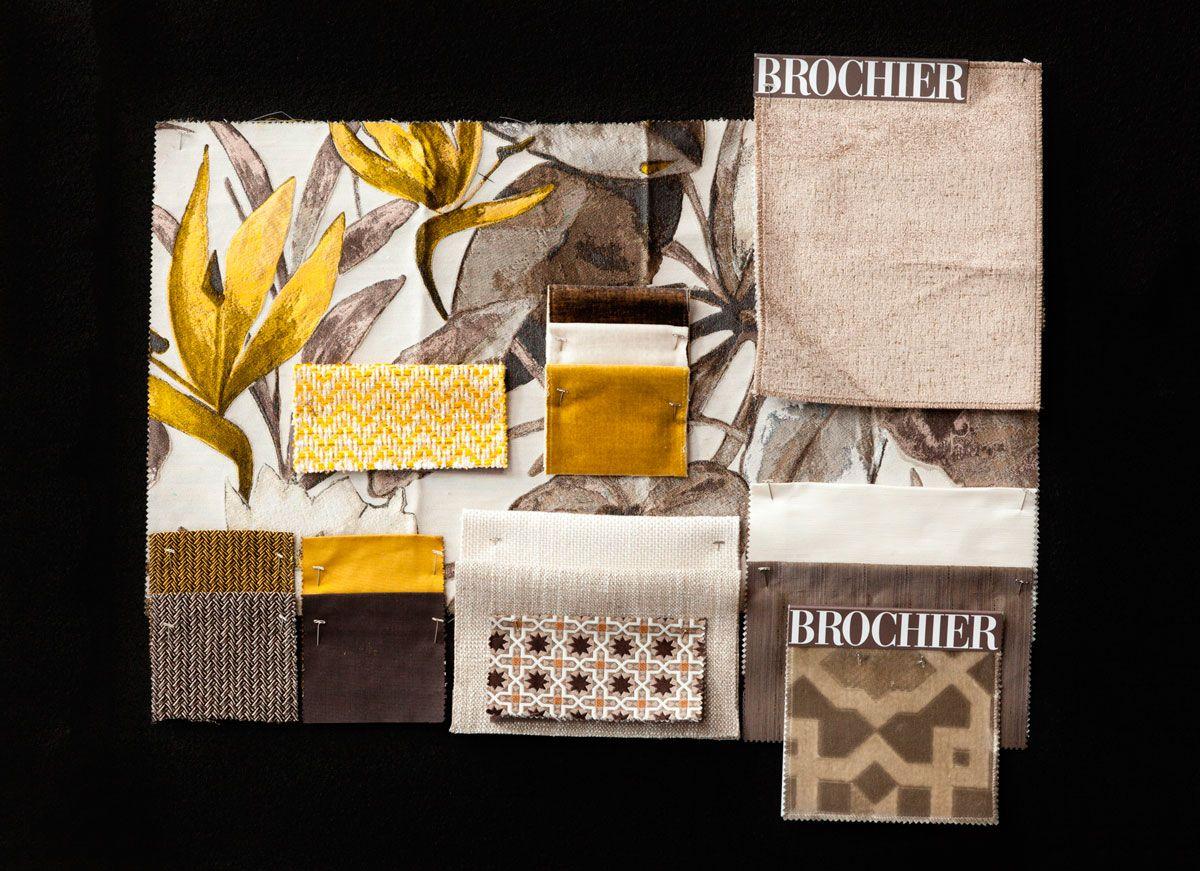 BROCHIER - Interior Design Fabrics - Design Inspiration 526 Tortora