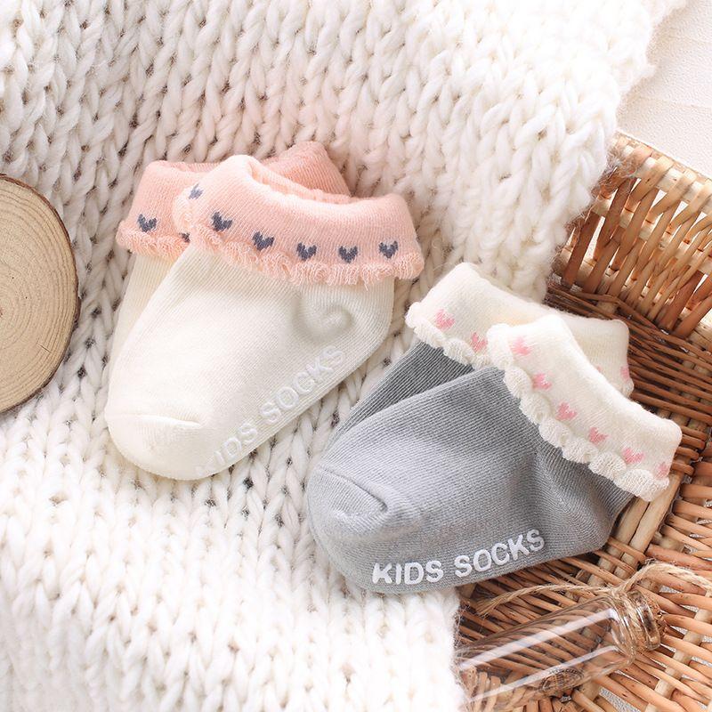 Lovelysocks Cutebabysocks Rufflesocks Anti Slip Baby Socks Lace Lace Socks Baby Socks