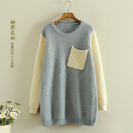 11bfa927c08 Kawaii Japanese hand-knit sweater to keep you warm and cute all day long! Faux  wool knit