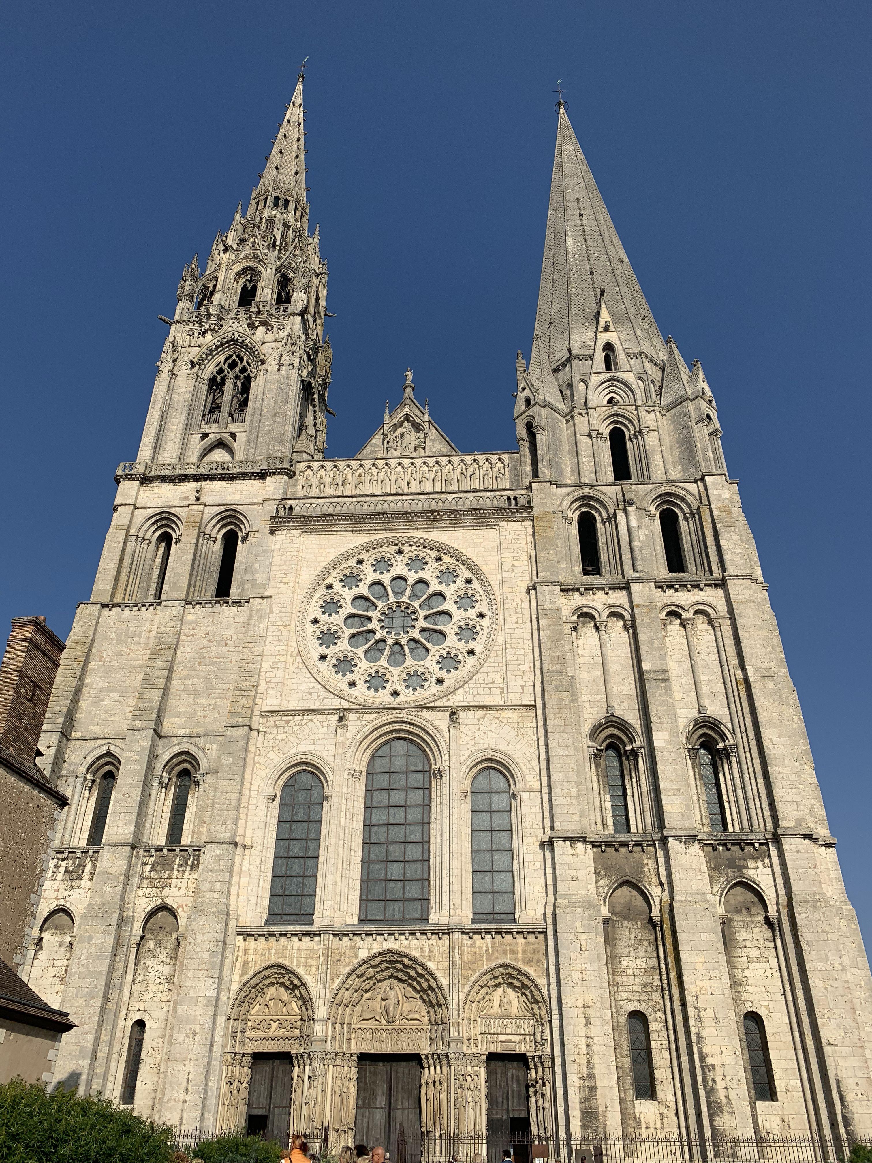 Chartres Cathedral Chartres Cathedral Church Architecture