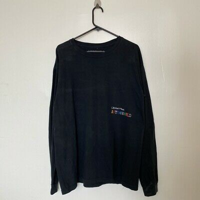 Travis Scott Greetings From Astrowold Long Sleeve size Large #fashion #clothing #shoes #accessories #men #mensclothing (ebay link)