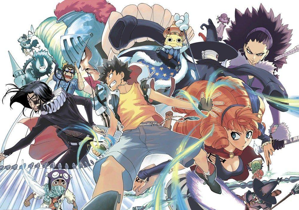 Radiant Gets TV Anime Anime, Manga illustration, Manga