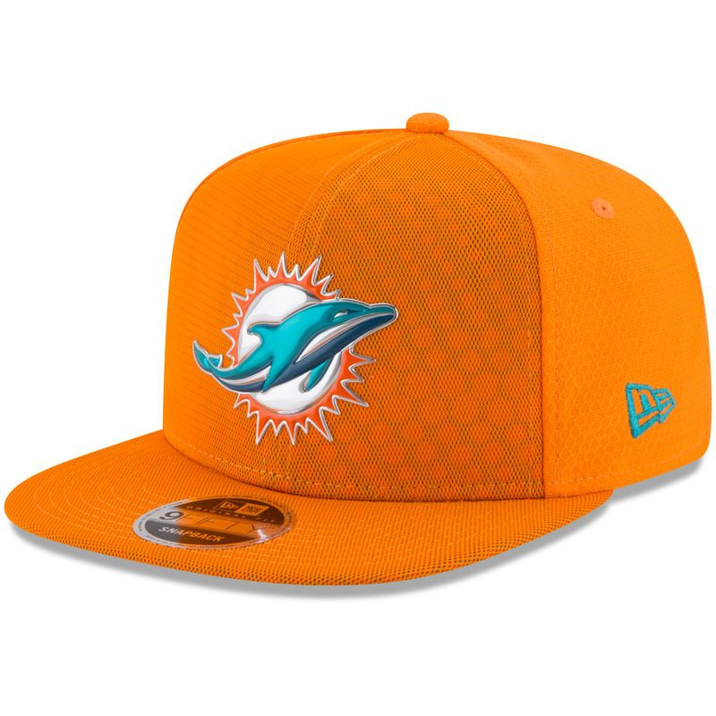 63cc2aac9cd10 Miami Dolphins New Era Youth 2017 Color Rush 9FIFTY Snapback Adjustable Hat  – Orange