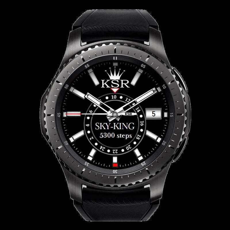 Samsung Gear S3 Frontier With Premium Luxury Hd Watchface Ksr Sky King