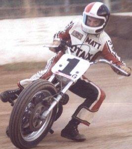 BSA 750 flattrack racer