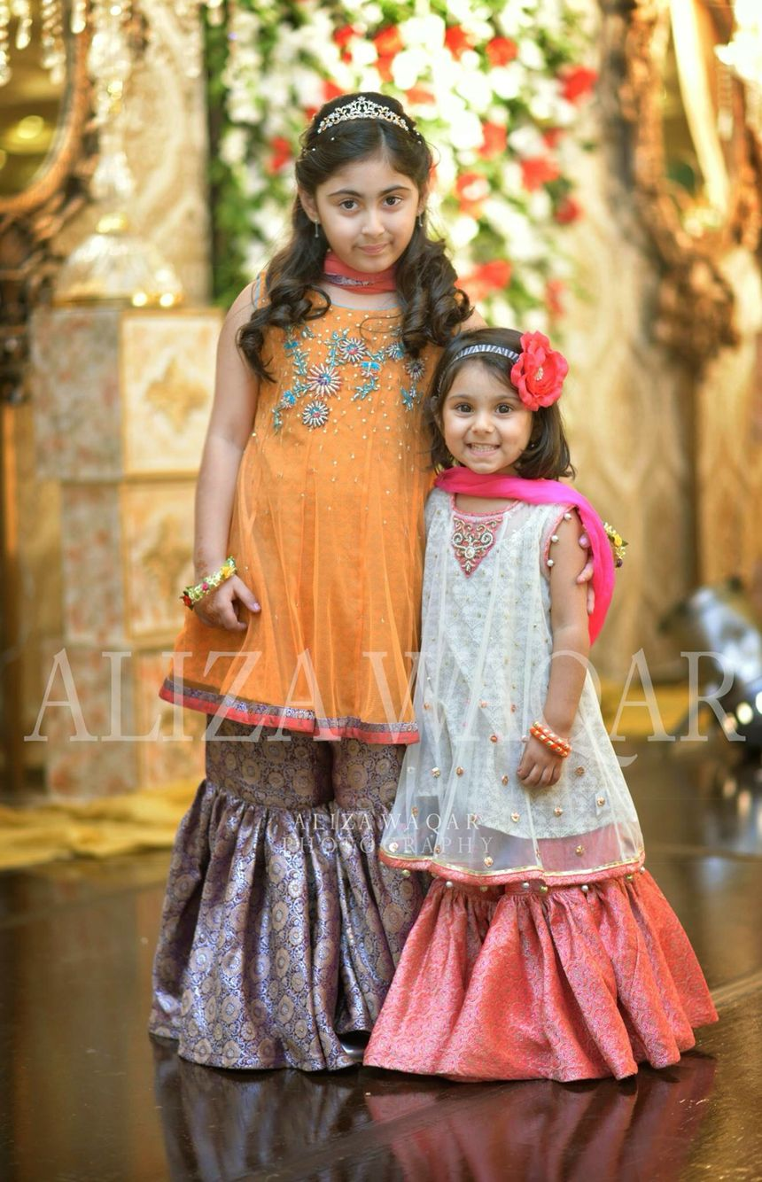 7db8929774 Pakistani Weddings | Desi Kids At Weddings | Dresses, Kids outfits ...