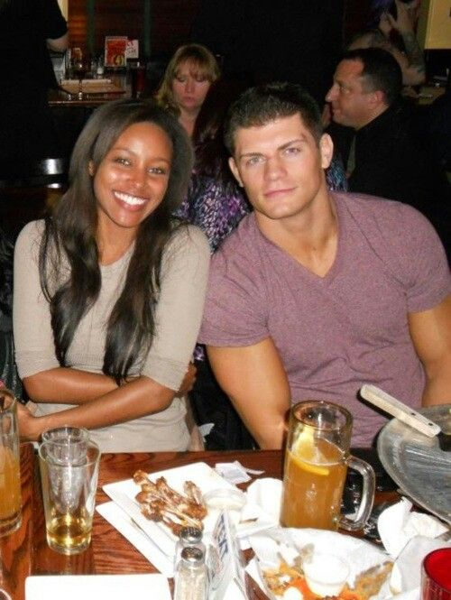 Cody Rhodes and Brandi Reed now Rhodes just got married.