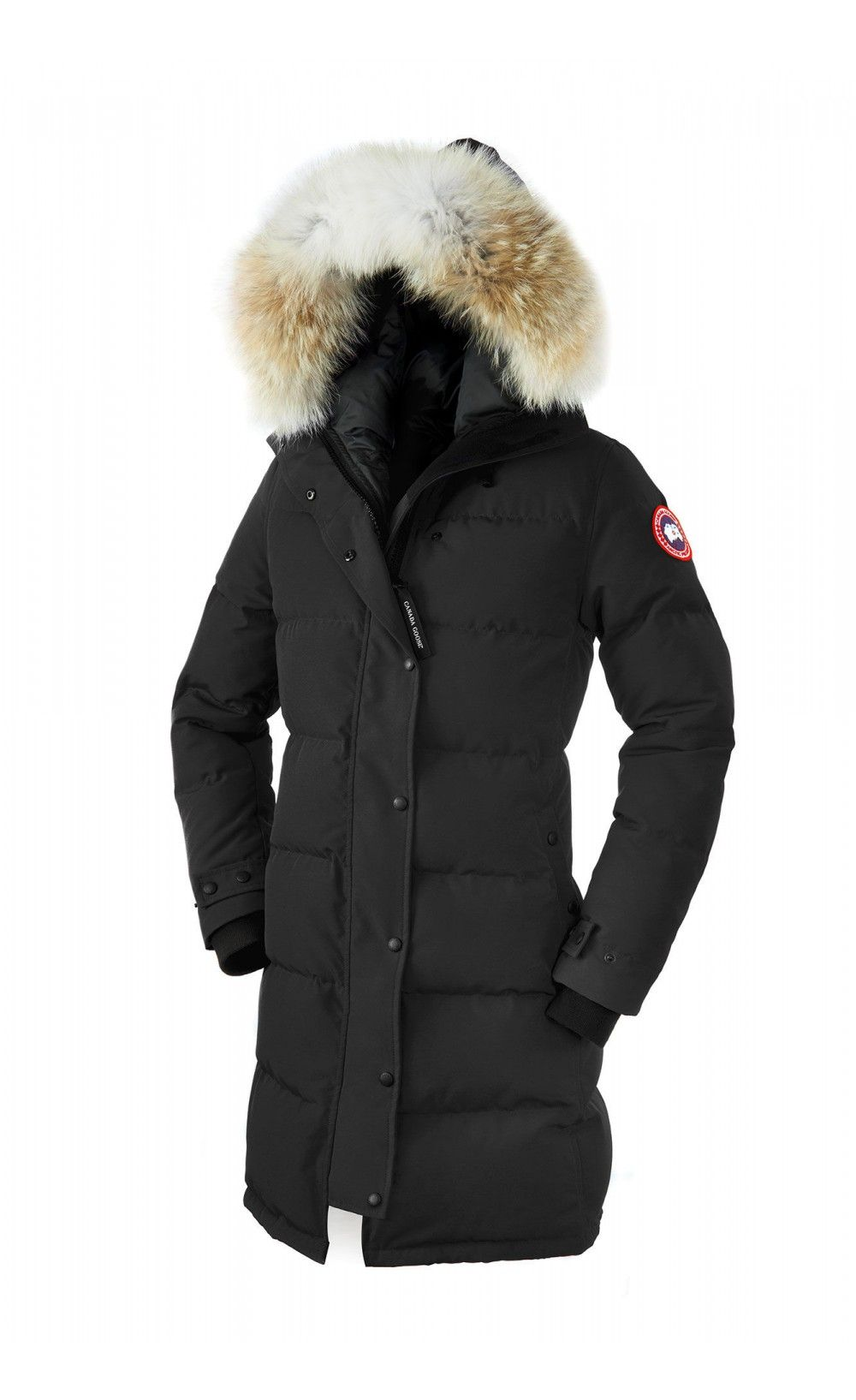Canada Goose Shelburne Parka Black Women Canada Goose Women Fashion Canada Goose Jackets