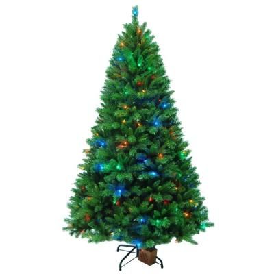 Home Accents Holiday 7 5 Ft Melody Hill Musical Tree With