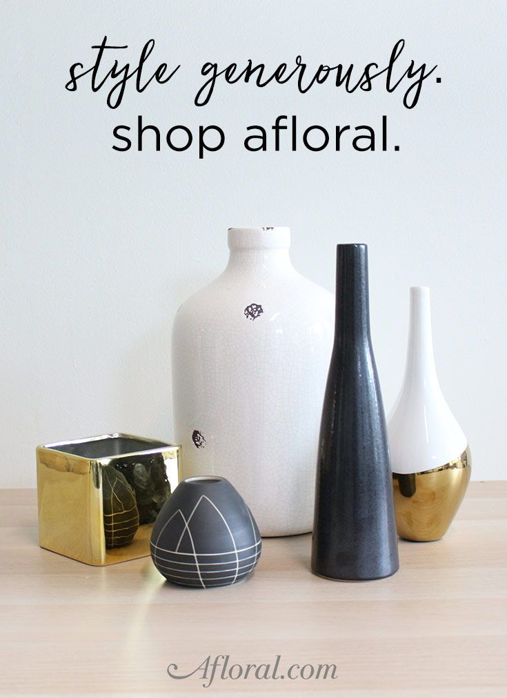 Find The Perfect Vase For Your Wedding Decor Or Home Accent Shop