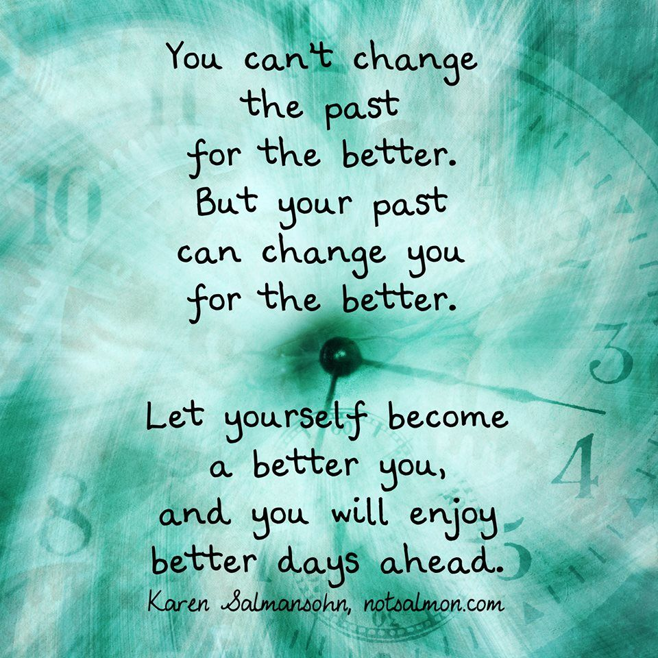 let yourself become a better you