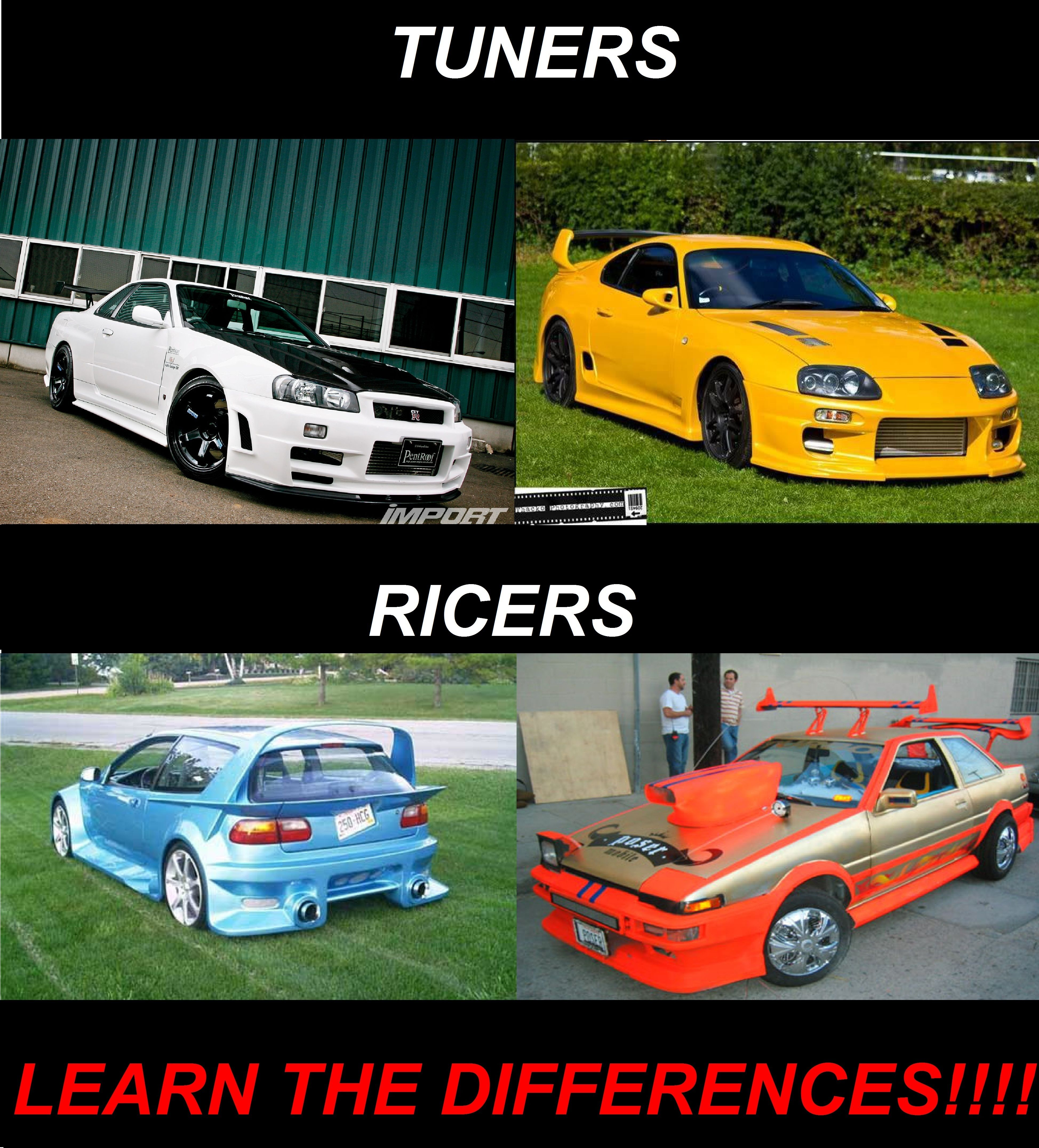 Muscle Vs Import Funny Pics Google Zoeken Cars Pinterest